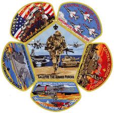 2015 Central Florida Council Boy Scout Military Armed Forces CSP Patch Set Lot