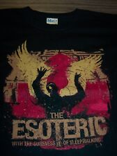 The Esoteric With The Sureness Of Sleepwalking T-Shirt Youth Large 14-16 New