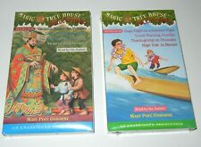 Magic Tree House Cassette Audio Books Collection #4 and #7 Sealed