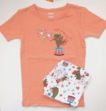 Gymboree Girl Pajamas Size 7 New Star of the Show Circus Short PJ's Gymmies