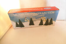 Liberty Falls Americana Collection Figure Six Miniature Trees Accessory Set