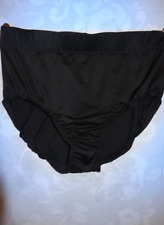 WOMEN'S BLACK SWIMSUIT BRIEF MIRACLESUIT BOTTOM ULTIMATE CONTROL 16W RET. $82.