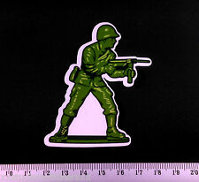 Army Man Sticker Toy Soldier Laptop iPad PC Decal Skateboard Stickerbomb Phone