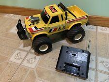 Vintage 1985 Radio Shack 4x4 Off Roader RC Monster Truck Ford v8 remote control