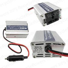 100W DC12V to AC 110V Car Cigarette Lighter Power Inverter Converter USB US Plug