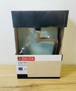 Delta Dryden Collection Towel Ring Venetian Bronze Finish New In Box 75146-RB