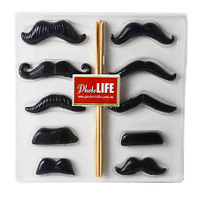 MOUSTACHES ON STICKS (RESIN) PARTY PHOTO PROPS