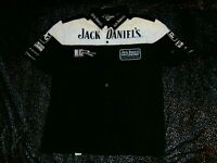 JACK DANIELS JD KELLY RACING V8 SUPERCARS EMBROIDERED PIT CREW SHIRT MENS L