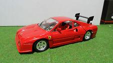 FERRARI GTO EVOLUZIONE rouge 1/18 JOUEF EVOLUTION voiture miniature d collection