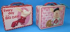 Lot Of 2 Nick Jr Olivia Tin Lunchboxes Brand New Nick Junior