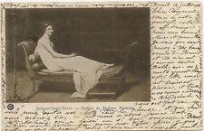 musée du louvre madame de récamier ,jacques louis david   1901