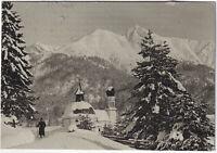 Seekapelle mit Rheiterspitze, Orig.-Photo um 1910