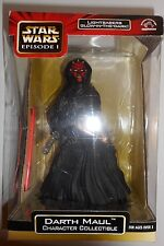"""Star Wars Episode I Darth Maul Character Collectible Lightsabers 9"""" Applause NIB"""
