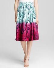 French Connection West Lake Sea Fern Print Poplin Skirt $158 NWT 0
