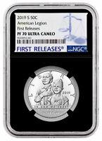 2019S American Legion 100th Clad Half Dollar NGC PF70 UC FR Black Core SKU57415