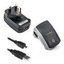 Genuine Blackberry CARICABATTERIE MICRO USB Adattatore Per Playbook 4G LTE WiMax 2012 UK