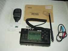 XIEGU X5105 HF / 50MHZ PORTABLE HF TRANSCEIVER FULLY WORKING + GOOD CONDITION !
