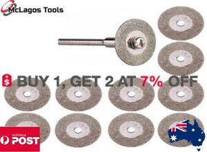 5 pcs 16, 20,40, 30mm Diamond Cutting Grinding Abrasive  Cut Off Blade Dremel