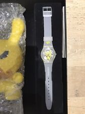 Swatch Watch Limited Edition Kid Robot Dunny Frank Kozik Tennis Edition NEW
