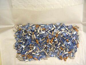 100 swarovski baguette stones,7x3mm light sapphire #4501