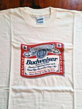 Camiseta cerveza beer Budweiser vintage t shirt