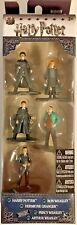 "Harry Potter NANO Metalfigs 2"" Diecast Figures 5 Pack Collector Set #84412"
