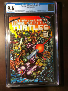TEENAGE MUTANT NINJA TURTLES #7 CGC 9.6 NM+ WP Mirage