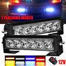 12 LED Car Strobe Flash Bumper Grille Light Warning  Emergency Lamp Bar 12V 36W