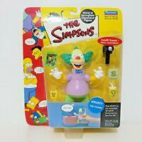 Playmates Simpsons KRUSTY THE CLOWN (2000) Figure World Of Springfield Series 1