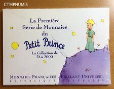 PREMIERE SERIE DE MONNAIES LE PETIT PRINCE BU 2000 JAMAIS OUVERT