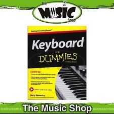 New Keyboard for Dummies Music Tuition Book with Online Audio Access