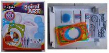 Spiral ART Crazart, spirografo gioco vintage per spirali e mandala ruote dentate