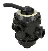 "Pentair 262506 Tagelus Pool Sand Filter 1.5"" Top Mount Multiport Backwash Valve"