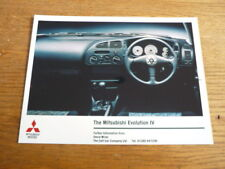 MITSUBISHI Evolution IV PRESS PHOTO