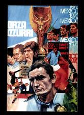 Tarcisio Burgnich Italia vice Weltmeister 1970 FOTO ORIGINALE FIRMATO + a 150298