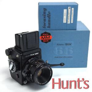 KOWA SIX MM MEDIUM FORMAT 6x6cm 120/220 ROLL FILM CAMERA w/85mm f2.8 LENS