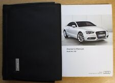 GENUINE AUDI A5 S5 COUPE SPORTBACK HANDBOOK MANUAL WALLET 2011-2015 PACK
