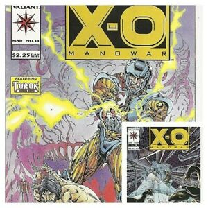 °X-O MANOWAR #14 & 15 THE RETURN OF TUROK 1 bis 2 von 2°USA Valiant Comics 1993