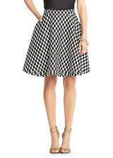 $398 DVF Amelia RUNWAY Dress SKIRT Jungle Diamond Black Size 4 CELEBRITY!