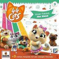 44 Cats - 003/Unser Freund der Hund CD NEU OVP