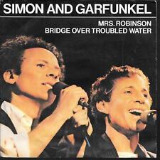 "45 TOURS / 7""--SIMON & GARFUNKEL--MRS.ROBINSON / BRIDGE OVER TROUBLE WATER--1982"