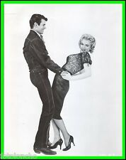 "MARILYN MONROE & DON MURRAY in ""Bus Stop"" Original Vintage Photograph 1956"