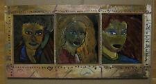 Oregon Artist Gregory Grenon Painting on Plexiglass