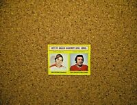 1973-74 Topps Hockey #4 Ken Dryden (Canadiens) /Tony Esposito (Blackhawks) LL