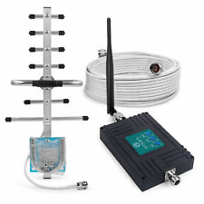 3G 4G 900/2100/2600MHz Mobile Signal Booster Antenna Kit for Optus O2 Voice Data