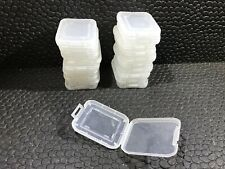 20 PACK LOT Micro SD SDHC Memory Card Adapter Clear Plastic Case Holder