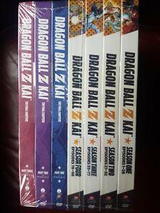 Dragon Ball Z Kai: Complete Series 1-7 Final Chapters (DVD AU) Brand New