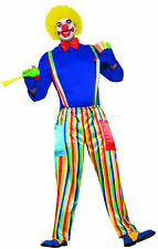 Carnival Clown- Adult Unisex Clown Costume