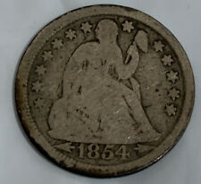 1854-O with Arrows Seated Liberty Dime F Add To Your Collection Today SL2