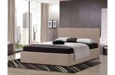 Lits avec matelas gris avec tête de lit pour la maison